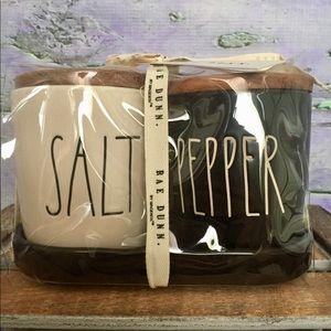 Rae Dunn Salt & Pepper Shakers